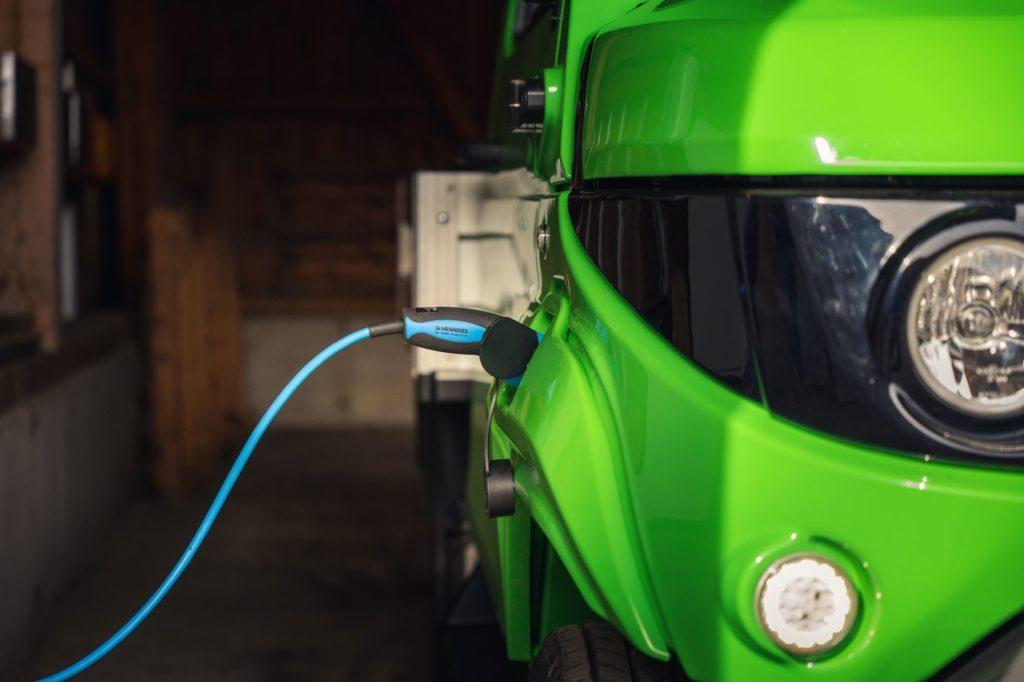Elektrisches Nutzfahrzeug