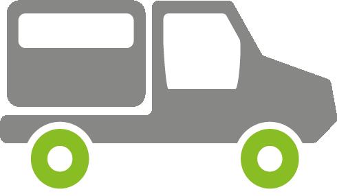 Elektrisches Nutzfahrzeug - Allradantrieb