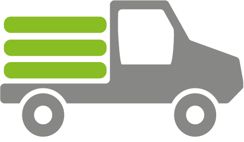 elektrisches Nutzfahrzeug 1 Tonne Nutzlast